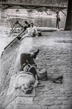 """HENRI CARTIER-BRESSON - Photogravure Photograph """"Along the Seine, Paris, 1956"""""""