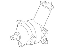 Genuine Ford Power Steering Pump F58Z-3A674-ABRM
