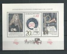1986 MNH Tschechoslowakei Mi block 67A