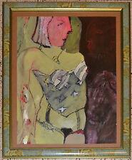 YOVANI BAUTA Painting.Cuban American Art.Woman.Gallery Museum Piece.Arte cubano