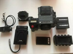 RED SCARLET X CAMERA 5K Cinema Kit Canon & PL Mounts Side Handle XLR , V Lock