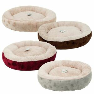 Super Soft Warm Washable Round Cat Dog Pet Bed Mattress Pillow Fleece Cushion