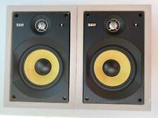 Pair of Bowers & Wilkins B&W CWM650 Ceiling or in-wall speakers CWM 650