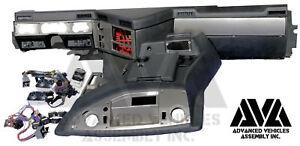 Hummer H1 Alpha 2006 Interior Dash Trim Switches Gauges New
