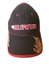 TaylorMade Burner TMAX Gear Golf Hat Cap Adjustable Strapback Embroidered Red