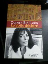 LIVRE CARMEN BIN LADIN, LE VOILE DECHIRE', LIBRO, BOOK