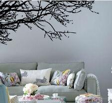 Fashion Black Tree Branches Wall Sticker Living Room Decals Vinyl Art Home Decor