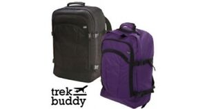 Carry-On Cabin Luggage Bag Trek Buddy Travel Rucksack Backpack Hand Suitcase