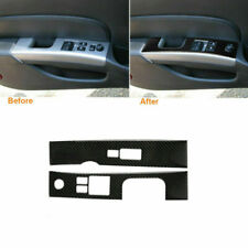 Carbon Fiber Interior Window Lift Switch Panel Cover Trim For Nissan 350Z 06-09 (Fits: Nissan)