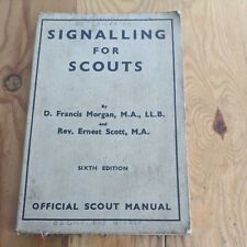 More details for 1940 signalling boy scouts softcover book 95 pages