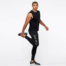 Nike Mens Tech Tight GX - Black/Anthracite Running Bottoms Size - M 929837 010