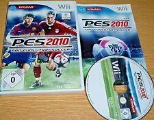 * pes 2010 * Deutsches juego & completo-Wii Nintendo Wii juego