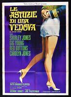 Poster Die Astuzie Von Ein Witwe Shirley Jones Gig Young Red Buttons Jones M66