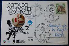 PARMA BASEBALL - COPPA CAMPIONI 1985