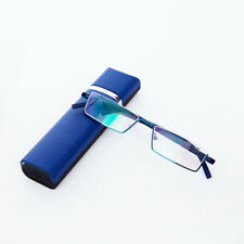 Elegant Reading Glasses Eye Wear +1 +1.5 +2 +2.5 +3 +3.5 +4 With Case Box Unisex