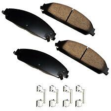Disc Brake Pad Set-ProACT Ultra Premium Ceramic Pads Front Akebono ACT1058