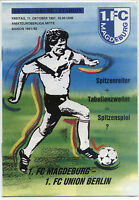 OL 91/92 1. FC Magdeburg - 1. FC Union Berlin, 11.10.1991