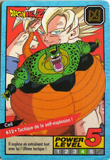 CARTE DRAGON BALL LE GRAND COMBAT N-¦ 612 CELL  POWER LEVEL 5