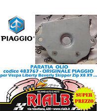 PARATIA OLIO 483767 ORIGINALE PIAGGIO per LIBERTY 4T 2V IE PTT - ITA 125 2012