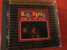 "MFSL-UDCD 548 B.B. KING "" LIVE AT THE REGAL "" (MFSL-GOLD-CD/USA/FACTORY SEALED)"