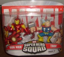 Marvel Superhero Squad IRON MAN & THOR MOC HERO AVENGERS FIGURES NEW FREE S/H