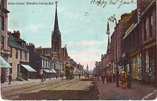 UK Scotland Aberdeen - Union Street 1909 cover mailed postcard