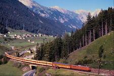 543079 Arlberg Line Express Near St Anton Austria A4 Photo Print