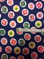 New Multi-purpose Nursery Dots & Stamps Multi-Colour Printed Cotton Fabric p*pm