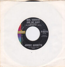 JOHNNY BURNETTE - God, Country And My Baby/Honestly I Do