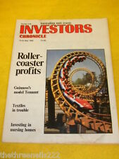 INVESTORS CHRONICLE - NURSING HOMES - MAY 19 1989