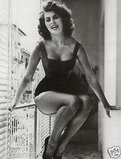 Sophia Loren Sofia Loren Stampa fotografica sucarta Print Postkarte Stamp Stampe