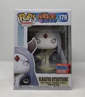 Funko Pop Naruto KAGUYA OTSUTSUKI #179 NYCC Gamestop Exclusive W/ Pop Protector