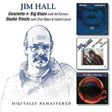 Jim Hall - Concierto / Big Blues / Studio Trieste [New CD] UK - Import