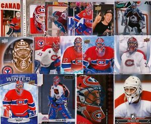 lot of 15 different PATRICK ROY cards MONTREAL CANADIENS COLORADO AVALANCHE