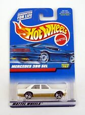 Hot Wheels Mercedes 380 Sel #767 Moulé Voiture Moc Complet 1997