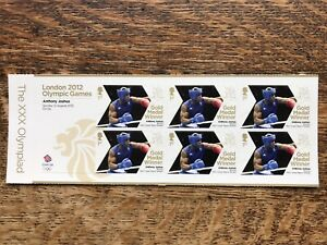 London 2012 Olympic Games, Anthony Joshua, Stamps, Mint