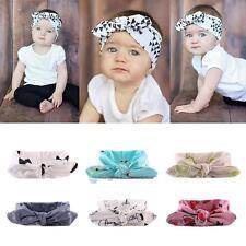 6 PCS Kids Girls Baby Headband Toddler Bow Flower Hair Band Accessories Headwear