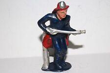 Barclay Vintage Lead Figure, B188 (#852) Fireman (With Hose) Lot #2