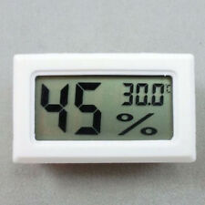 LCD Digital Display Thermo-hygrometer Room Monitor Meter Temperature Humidity
