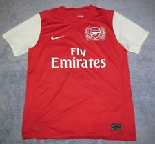 Arsenal Kids 2011 Home Red Nike Jersey Boys L Youth 2012 Rare