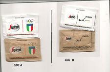 sugar packets BUSTINE ZUCCHERO collezione RIO 2016 Olympic Games SEGAFREDO