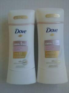 Lot of 2 Dove Advanced Care Antiperspirant Deodorant Even Tone Restoring Powder