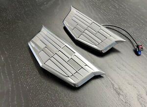 2021 Escalade Bowtie Platinum set- rear emblem pushbutton