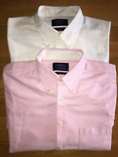 Two charles tyrwhitt shirts 17.5. White/ Pink Excellent Condition Big Man