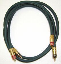 AUDIOQUEST Emerald Hyperlitz RCA 1 Meter Audio Interconnect