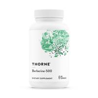 THORNE RESEARCH Berberine-500 60 Vegetarische Kapseln, VERSAND WELTWEIT