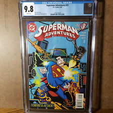 Superman Adventures #22 CGC 9.8 White Pages