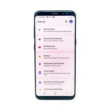 Samsung Galaxy S8 - 64GB - Factory Unlocked - SM-G950U Android - Midnight Black