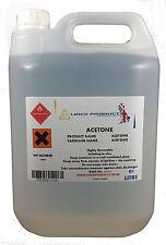 Pure Acetone 99.5 Nail Polish Remover X10 Litre