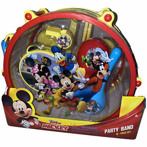 Disney Junior Mickey Mouse Party Band 10 Piece Set ~ Musical Instruments